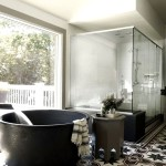 Фото 4: Красивая ванна на кафель для ванной комнаты