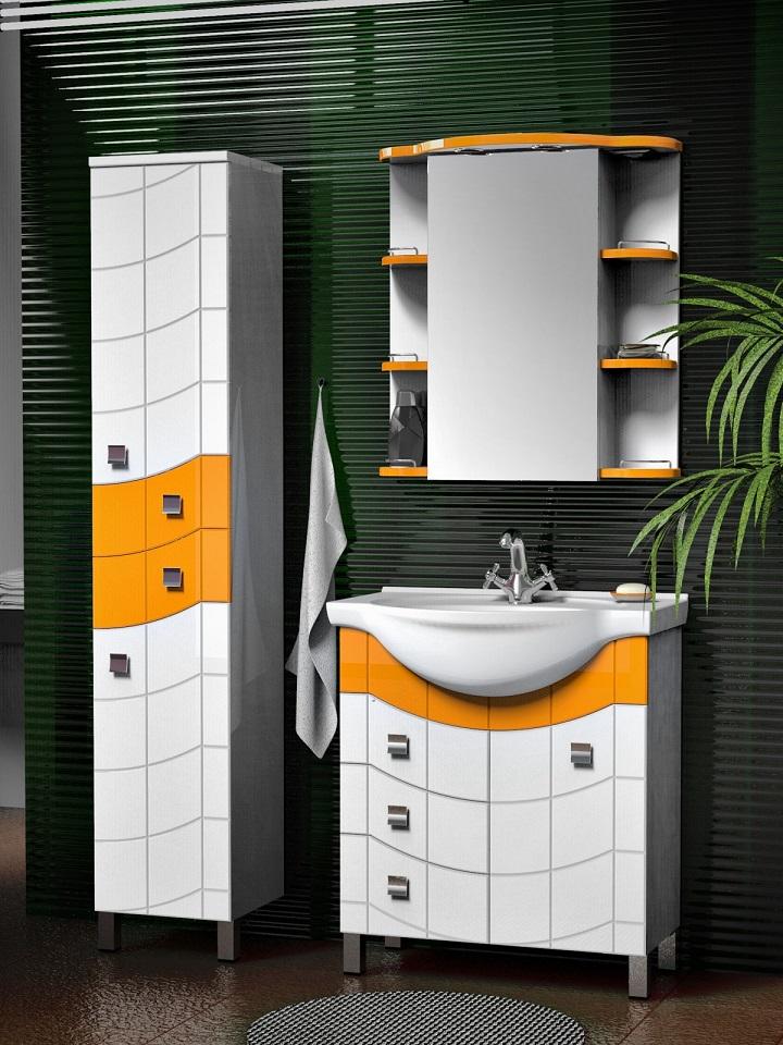 Вариантов мебели для ванных комнат любого размера, конфигурации существует великое множество