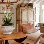 Фото 27: Мягкая мебель на фоне шкафа