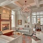 Фото 37: Мягкая мебель для гостиной фото с необычной люстрой