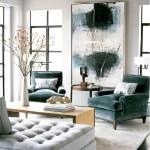 Фото 52: Разноцветная мебель для гостиной