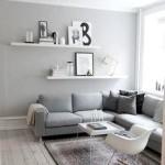 Фото 17: Серый диван в гостиной