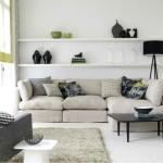 Фото 24: Бежевый диван современного стиля