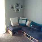 Фото 25: Синий диван в современном стиле
