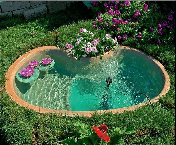 Живая вода в ландшафтном жизайне