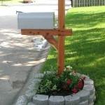 Фото 211: Клумба вокруг почтового ящика