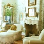 Фото 283: Светлые фрески в гостиной