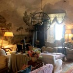 Фото 286: Гостиная в стиле прованс с фреской