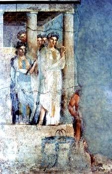 Классическая фреска