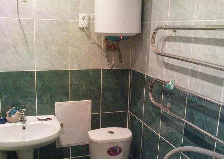 В стандартную ванную хрущевки помещается все необходимое при правильной планировке