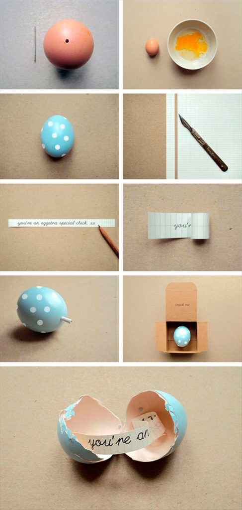 Яйцо с пожеланиями