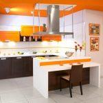 Фото 40: Яркая кухня в стиле модерн