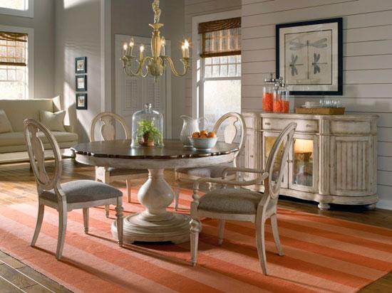 Круглый стол в стиле прованс