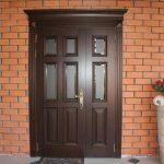 Фото 19: Деревянные двери