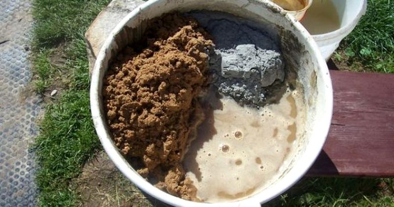 Составляющие цементно-песчаного раствора