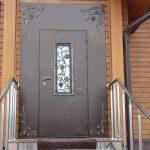 Фото 37: Стальная дверь с ковкой