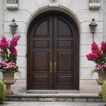 Фото 40: Входные арочные двери