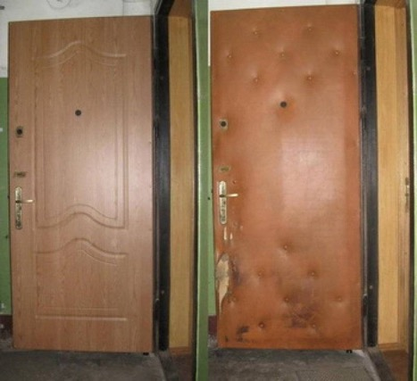 Реставция дверей