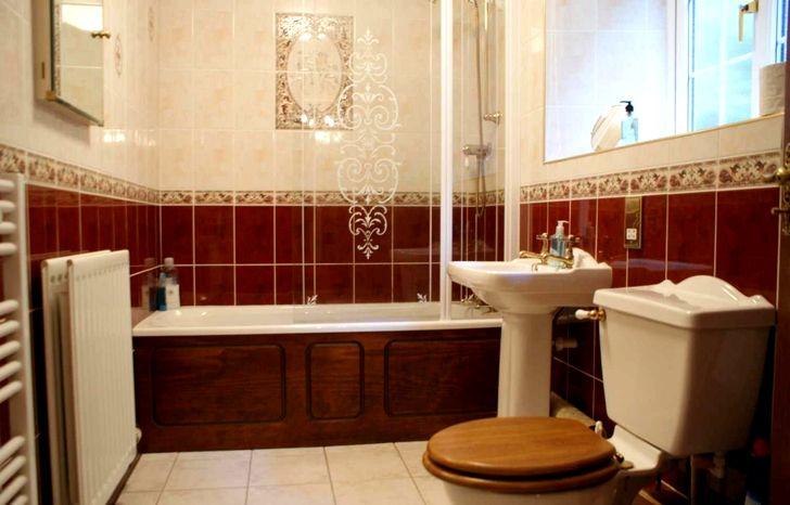 Классический интерьер в ванной
