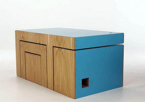 Мебель трансформер в собранном виде