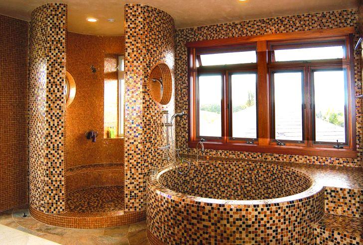 Необычная плитка для ванной