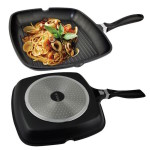 Фото 10: Готовка блюда и сковородка с двух сторон