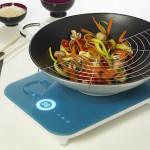 Фото 12: Овощное блюдо готовится на стеклокерамической плитке