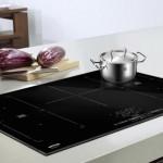 Фото 42: Современная кухня, стеклокерамическая, плита, посуда