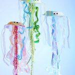 Фото 69: Гирлянды - медузы из бумажных тарелок