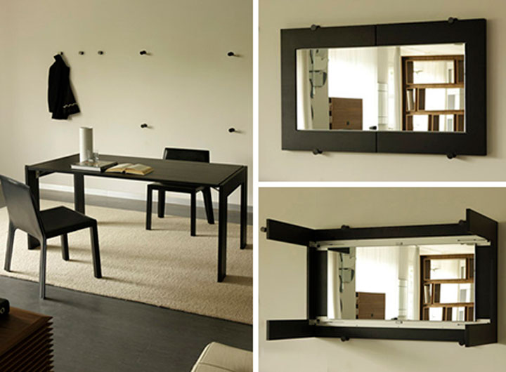 Стол-рама для зеркала
