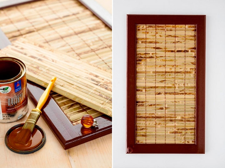 Бамбуковая отделка