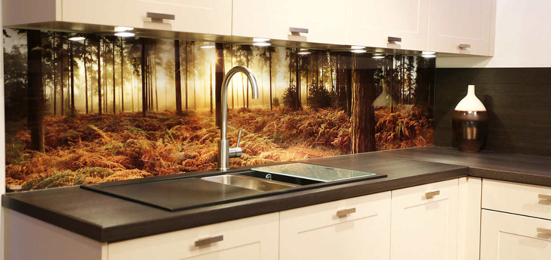 Фотообои для фартука на кухне
