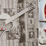 Фото 59: Полка из старой гитары