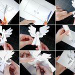 Фото 36: Изготовление объемной открытки с ангелом