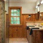 Фото 43: Отделка ванной вагонкой