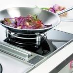 Фото 50: Приготовление блюда на маленькой стеклокерамической плите