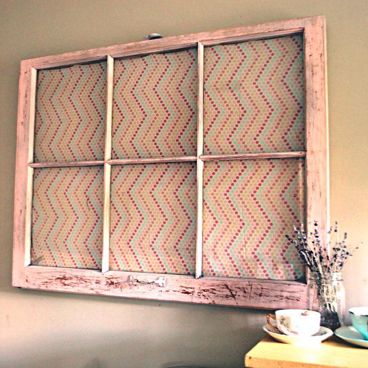 Декоративное окно для кухни