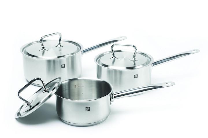 Очень красивый набор посуды для электрической плиты