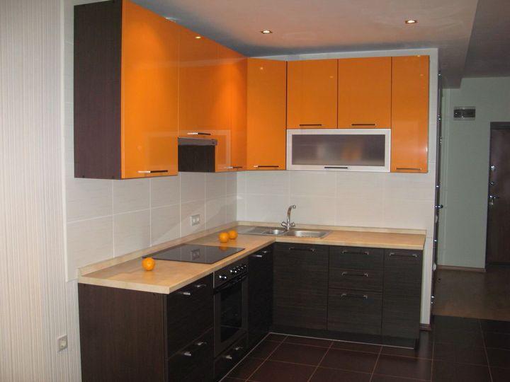 маленькая угловая кухня 3