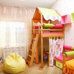 Фото 218: Детский уголок в комнате для девочки