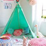 Фото 148: Шалаш в детской игровой комнате для девочек