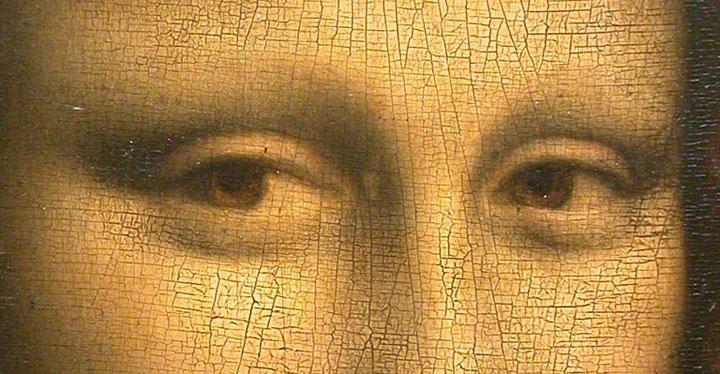 Трещинки на произведении искусства