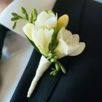 Фото 80: Букетик жениха из фрезий