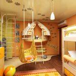 Фото 56: Детская игровая комната