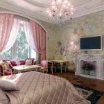 Фото 210: ДЕтская комната для девочек в английском стиле