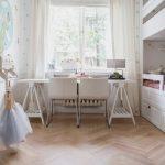Фото 222: Светлый дизайн детской комнаты для девочки