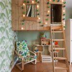 Фото 223: Домик на дереве в детской комнате для девочек