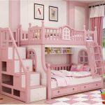 Фото 121: Двухъярусная кровать для девочек