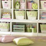 Фото 67: Хранение игрушек в детской для девочек