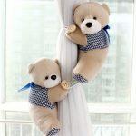 Фото 113: Подхваты для штор в виде мягких игрушек